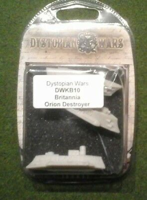 dystopian wars britannia orion destroyer