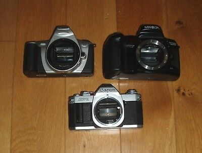 Job lot 3 vintage film camera