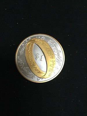 2003 Lord of the rings silverplated