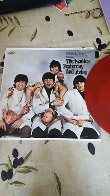 "The Beatles Yesterday And Today ""The Butcher Cover ""  Red Vinyl"
