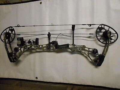2017 Mathews Halon 32 6 Sitka Elevated II Camo Compound Bow Pkge! RH 60-70lb.