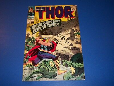 The Mighty Thor #132 Silver Age Solid VG+ wow 1st Ego Key