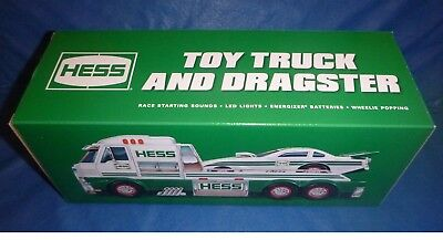 HESS 2016 Toy Truck and Dragster New In Box *FREE FedEx Ground -U.S. ONLY*