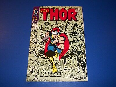 The Mighty Thor #154 Silver Age 1st Magog Gorgeous VF Beauty Wow