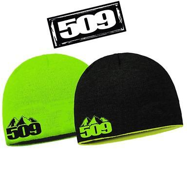 New 509 Reversible Beanie One Size Green - Smb-16Hbn-Rv-Gn