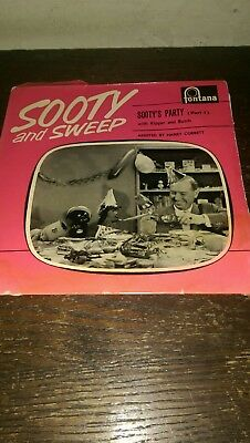 sooty and sweep  45 record  collectable