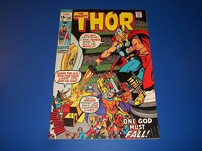 The Mighty Thor #181 Bronze Age Neal Adams VF Beauty