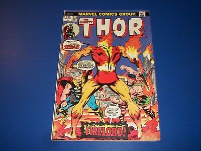 The Mighty Thor #225 Bronze Age 1st Firelord Key Wow Key FVF Beauty