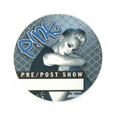 Pink Blue Before/Aftershow Backstage Pass 2000 No Strings Attached Tour (N'Sync)