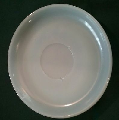 3 Fire King Turquoise Blue ** Saucers Only**  for cup Ovenware