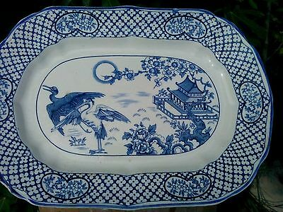 staffordshire blue and white