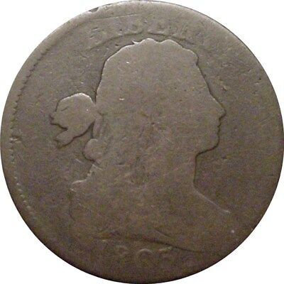 1803 Draped Bust Cent--Very Nice About Good