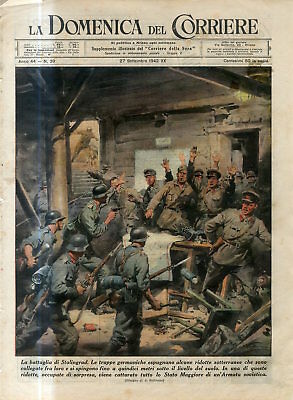 1942 WW2 Russia Stalingrad Battle German Nazi troops captured Soviets in dungeon