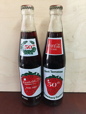 Coca-Cola Commemorative Bottles, Strawberry Festival
