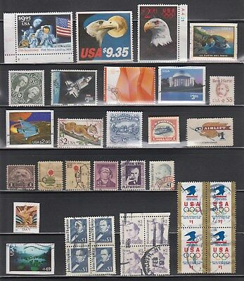 Us,high Value 9.95-1.00 Vintage-Modern Collection Used,f-Vf