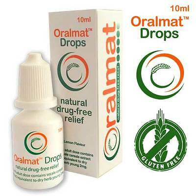 Oralmat Drops for asthma, bronchitis, emphysema, hay fever and other