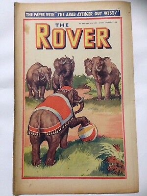 DC Thompson. THE ROVER Wartime Comic. February 8th 1941 Issue 982.