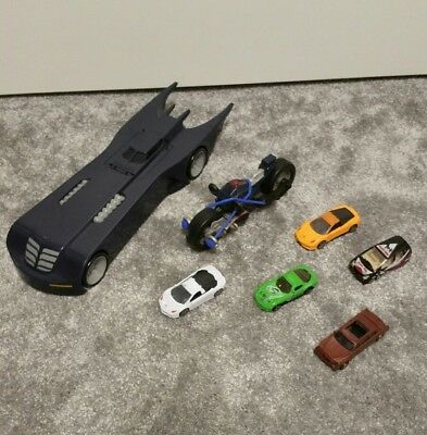7x toys cars batmobile spiderman bike