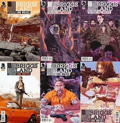 BRIGGS LAND LONE WOLVES  1 2 3 4 5 6 | Dark Horse Comics NM 1st Print Brian Wood