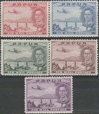 Stamps from Papua - British Colonies. 1939.