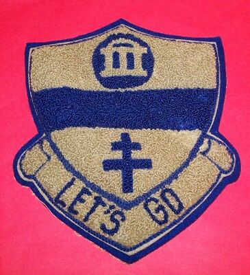 RARE LARGE CHENILLE 82nd AIRBORNE 325th GLIDER INFANTRY REGT. DUI JACKET PATCH!