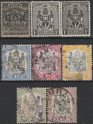 Very Old Stamps from British Central Africa.