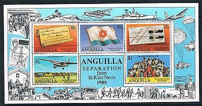 Anguilla 1980 Separation from St Kitts MS SG 448 MNH