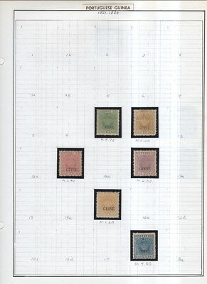 Portuguese Colonies On Album Pages 1881 To 1953 All In Mounts!