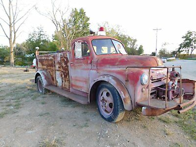 1949 Dodge Other Pickups  1949 dodge 5 window fire truck