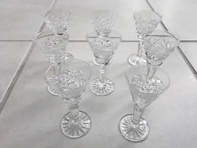 Waterford Crystal Liqueur Glasses -  Set Of 8