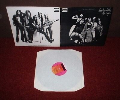 ALICE COOPER Love It To Death LP 1971 STRAIGHT UK 1st Press!! A1/B1 MATRIXES!!!!