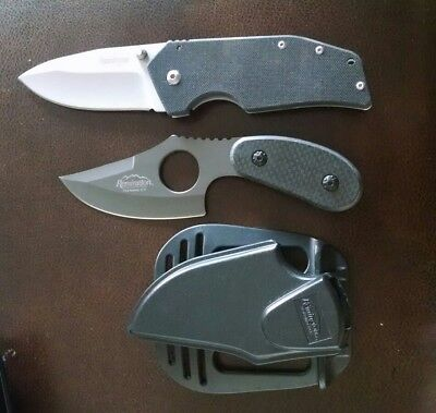 Lot of 2 Knives: Kershaw 1447 & Remington Stainless Boot Knife