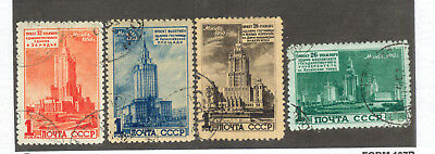 Russia-Stamps: #1521 to #1524, Grade Used, Est $85