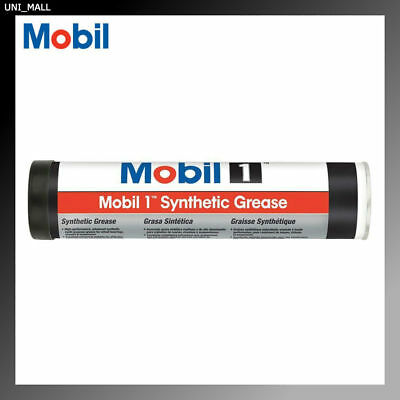 MOBIL 1 Synthetic Grease For Wheel Bearings, Chassis, Suspension 12.5oz Tube USA