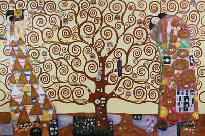 The Tree - Oil Painting on canvas - faithfully Reproducton of the work by (M3I)