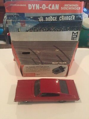 Vintage Slotcar Dyn O Can 66 Dodge Charger Mpc And Box From 1960s