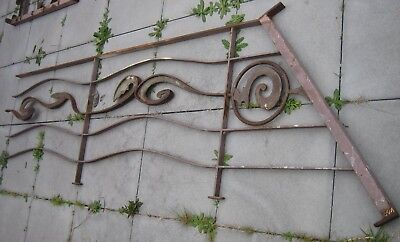 Architectural metal art work - Balustrading - Fence - Gate