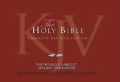 Alexander Scourby Bible-KJV by Alexander Scourby (read by)