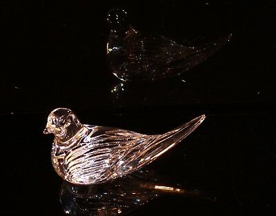 Reduced Waterford Ireland Crystal Dove Of Peace