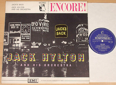 JACK HYLTON - Jack's Back  (ENCORE, UK 196x / recorded 1936-39 / MONO / LP vg++)