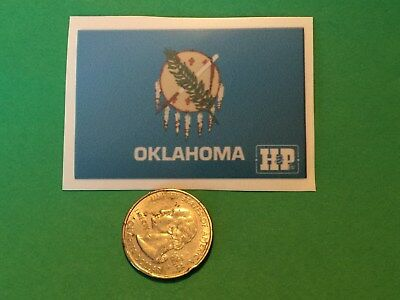 Oilfield Decal Sticker H & P Oklahoma  Drilling Gas Field Oil Drilling Hardhat