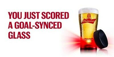 New Nhl Bud Red Light Goal Synced Glass Free Shipping To Some Parts Of Canada!