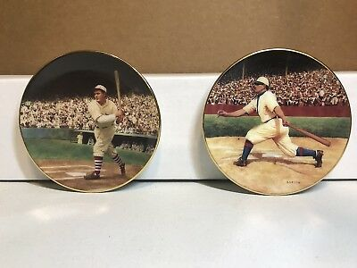 The Bradford Editions Rogers Hornsby & Honus Wagner Mini Plates