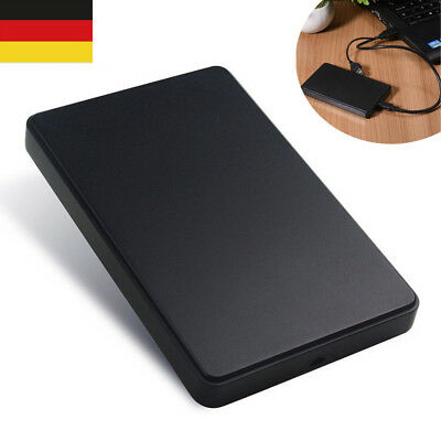 Tragbar USB3.0 Externe Festplatte PC Desktop Handy Hard Disk Drives Case DE