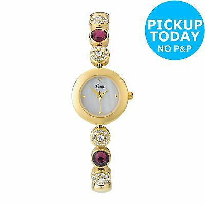 Limit Ladies' Gold Plated Bracelet, Necklace and Watch Set -From Argos on ebay