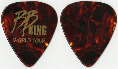 BB King authentic band issued vintage 1996 tour custom collectible Guitar Pick