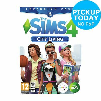 The SIMS 4 City Living Expansion Pack PC Game 12+ Years
