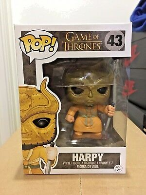 Funko Pop! Game Of Thrones Harpy #43 Vinyl Figure Vaulted Retired