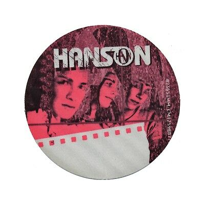 Hanson authentic ALL ACCESS 2000 tour Backstage Pass
