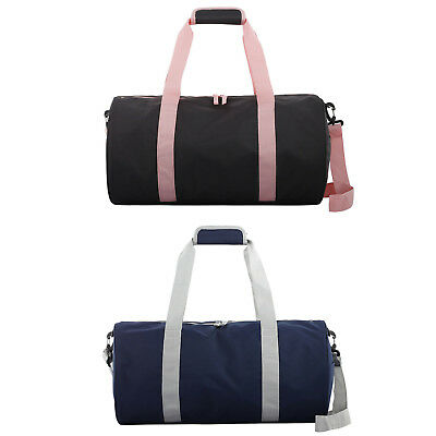 Sports Barrel Bag Gym Duffle Tote Workout Fitness Carry Travel Duffel Team Retro